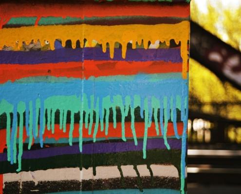 Was ist Coaching? Was ist Farbe bei einem Graffiti? Farbfläche Graffiti