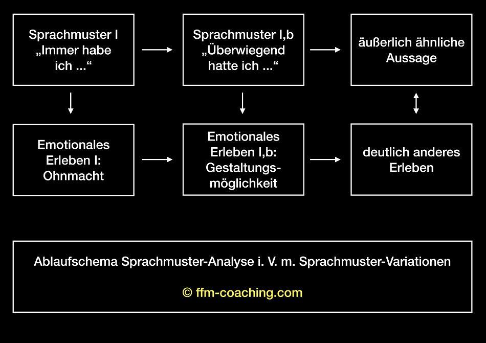 Coaching Spezialisierung Sprachmuster-Analyse