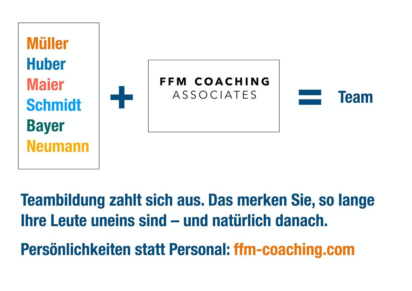Teambildung in Frankfurt mit FFM Coaching Associates