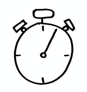 Stoppuhr – Pareto-Effekt durch Tempo?
