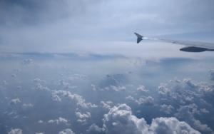 Flug zum Coaching Klienten